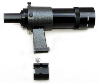 8x50mm Finderscope w/bracket & base